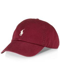 Polo Ralph Lauren Hat, Classic Chino Sports Cap on Wanelo