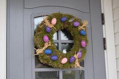 Påskekransen | Dora Dekorasjon Hanukkah, Halloween, Design, Home Decor, Creative, Homemade Home Decor, Interior Design, Design Comics