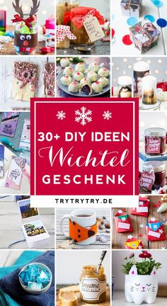 Wichteln / Julklapp / Wichtelgeschenk / For the Advent calendar or to elves: here are great gift ideas under 5 € / gift ideas for men or the partner, gifts for mom, craft ideas for personalized gifts, ingenious craft ideas for DIY gifts for Christmas Diy Gifts For Christmas, Cumpleaños Diy, Diy Cadeau Noel, Natal Diy, Diy Advent Calendar, Navidad Diy, 242, Xmas Presents, Diy Crafts For Kids