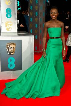 BAFTA Awards 2014 - Best Looks British Academy Film and Television Awards - ELLE Stunning Dior Haute Couture, Christian Dior Couture, Haute Couture Dresses, Christian Louboutin, Louboutin Shoes, Celebrity Red Carpet, Celebrity Style, Red Carpet Gowns, Red Carpet Fashion