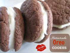 The Better Baker: Homemade Oreo Cookies