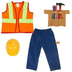 Imaginarium Construction Worker Dress Up -- This is an Amazon Affiliate link. Read more reviews of the product by visiting the link on the image.
