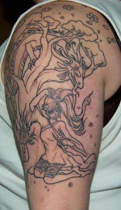 Half Sleeve Tattoo by TYsnippets on DeviantArt