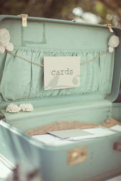 Cute idea to keep up with the cards! Love the color!