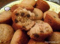 Healthy Lunchbox Guest Post– Gluten Free Gigi -- chocolate chip mini muffins