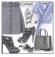 """""""ROMWE"""" by amra-fashion ❤ liked on Polyvore featuring Miss Selfridge, Fendi and Miu Miu"""
