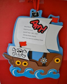 Pirate Party Invitations | Flickr - Photo Sharing!