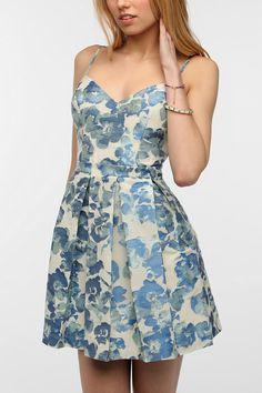 Kimchi Blue Jacquard Romy Dress