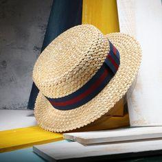 2017 Nuevo Verano Paja Natural Sombrero Para El Sol Para Las Mujeres  Hombres Moda Playa Sombreros c71b01692a82