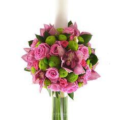 Lumanare cununie/botez doar pe 123flori Calla Lily Flowers, Calla Lilies, Baptism Candle, Candels, Floral Wreath, Wreaths, Plants, Future, Wedding
