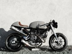 Andy's Ducati Sport 1000 resurrected from the dead and beautifully customised.
