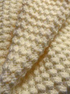 Crochet Porcorn Stitch - Tutorial