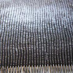 Lead Weaving by Sue Lawty.
