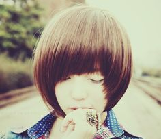 pretty hair... #hair #kfashion #korean #asian #ulzzang