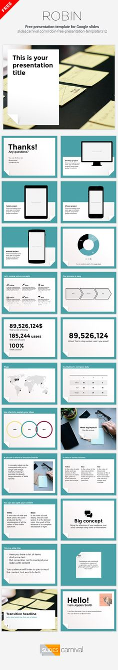 87 best Free presentation templates images on Pinterest in 2018 ...
