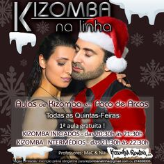 KIZOMBA POWER em Paço de Arcos TODAS AS QUINTAS - 1ª aula GRATUITA!  Kizomba na Linha - Aulas com MaC & Nia - KIZOMBA POWER.  Mais em: http://ift.tt/2dOynZZ #kizombapower #kizomba #tarraxinha #semba #zouk
