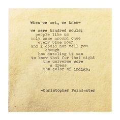 The Universe and Her, and I #236 written by Christopher... (Remington Typewriter Poetry.)