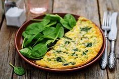 Špenátová omeleta | Prodietix.cz