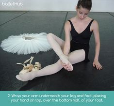 How to Stretch Your Feet Safely and Easily For More Flexibility - Step 2