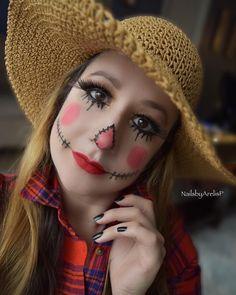 Female Scarecrow Makeup