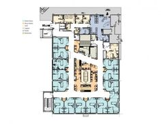 Oncology Center Floor Plans Vedanta Cancer Hospital Research Center Openbuildings Etsu