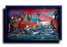 Pebble Art, Painting, Rocks, Painting Art, Paintings, Painted Canvas, Drawings