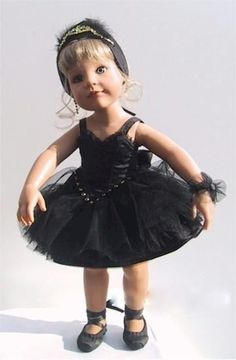 Gotz Doll Odile,Dark Swan Lake Balleria,Limited Collectors Edition 29/150, 2004