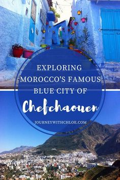 If there was one place I was looking forward to visiting on my travels in Morocco, it was Chefchaouen. Once you enter La Medina, you're transported into a blue paradise.