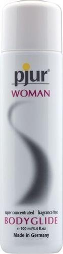 Pjur Woman Bodyglide Lubricant - 100ml Silicone Lube #pjur