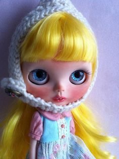 Marylou blythe ooak custom doll por Cococinnelle en Etsy