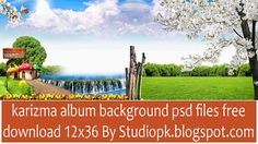 Karizma Album Background Psd Files Free Download 12x36 Collection521245