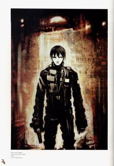 Killy from BLAME! by Tsutomu Nihei
