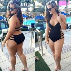 I wish i looked as good as this girl in a bathing suit. Hell, i just wish i has an ass!