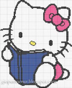 Hello Kitty Book pattern