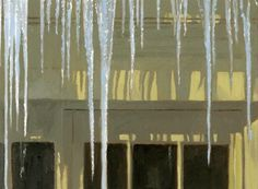 """Daily+Paintworks+-+""""Icicles""""+-+Original+Fine+Art+for+Sale+-+©+Nancy+Herman"""