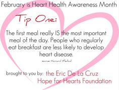 E Chester Disease Cero Foundation: Heart Healthy Tips for Heart Health Awareness Month