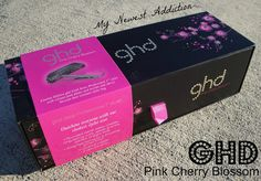 """My Newest Addiction Beauty Blog: Review: GHD Gold Professional 1"""" Styler in Pink Cherry Blossom"""