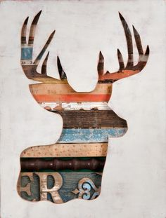 Wooden Construction Inlaid w/ Recycled Stuff. Dolan Geiman.
