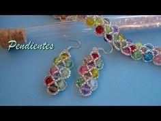 Beaded Bracelets Tutorial, Bead Loom Bracelets, Earring Tutorial, Jewelry Making Tutorials, Beading Tutorials, Beading Patterns, Seed Bead Jewelry, Beaded Jewelry, Seed Bead Projects