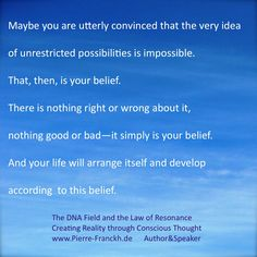 #DNAfield #pierrefranckh #creatingreality #bookoutnow #lawofresonance