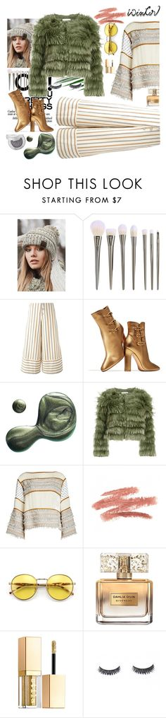 """""""sundance style"""" by rubyw00 on Polyvore featuring мода, CC, See by Chloé, Gianvito Rossi, Illamasqua, Alice + Olivia, Wildfox, Givenchy, Stila и outfit"""