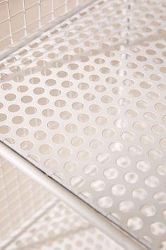 Slim Perforated Metal Storage