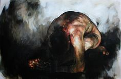 Thaw_100cm_x_150cm_x_4cm_Oil_on_canvas South African Art, Oil On Canvas, Contemporary Art, Abstract, Artist, Painting, Body, Inspiration, Portraits