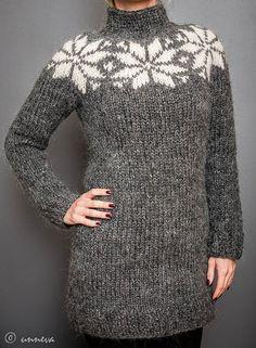 Icelandic Lopi Sweater  Big Star by unneva on Etsy, $165.00