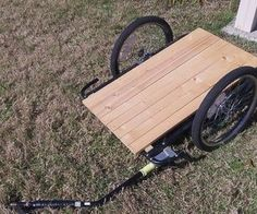 Converting a Bicycle Child Trailer into a Cargo Trailer