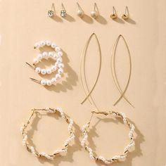 Vintage Classic Drop Earrings – klozetstyle.com Pearl Drop Earrings, Circle Earrings, Round Earrings, Vintage Earrings, Crystal Earrings, Statement Earrings, Women's Earrings, Flower Earrings, Square Earrings