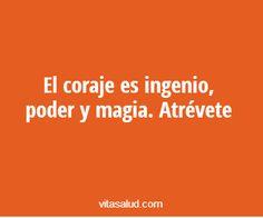 ¿Qué tal algo de #magia para empezar el día? #frasepositiva