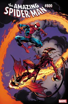 Romita and Bagley Variants for ASM #800 – Spider Man Crawlspace