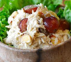 Beagle Bagel Chicken Salad - Amanda Jane Brown