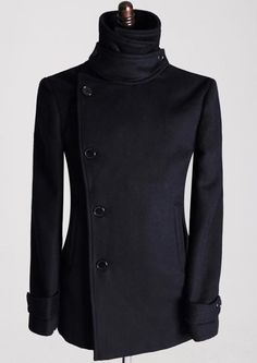 Line Up Wool Coat >> love the side button, cannot find a link for this jacket